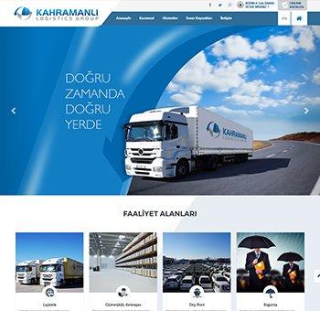 تصميم وبرمجة موقع لشركة kahramanli